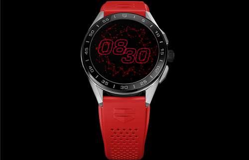 以爱为名 TAG Heuer泰格豪雅Connected智能腕表 以红色 献礼520