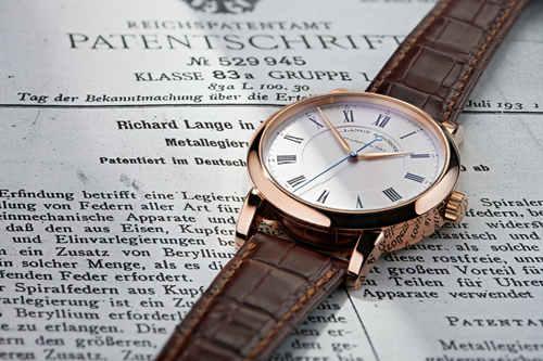 制表大使理查‧朗格与朗格理查朗格系列手表