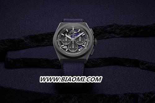 甄选活力色彩 开启全新篇章 ZENITH 真力时推出品牌首款紫色计时机芯限量腕表 DEFY 21 ULTRAVIOLET 热点动态 第1张