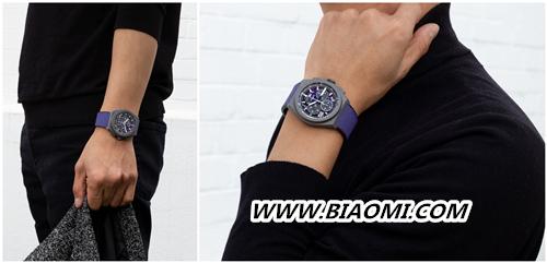 甄选活力色彩 开启全新篇章 ZENITH 真力时推出品牌首款紫色计时机芯限量腕表 DEFY 21 ULTRAVIOLET 热点动态 第3张