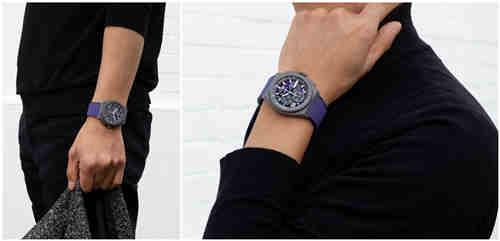 甄选活力色彩 开启全新篇章 ZENITH 真力时推出品牌首款紫色计时机芯限量腕表 DEFY 21 ULTRAVIOLET