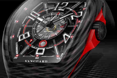 法穆兰Vanguard™ Racing镂空系列腕表