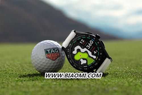 TAG Heuer泰格豪雅推出第三代奢华智能腕表特别版 助力高尔夫爱好者在球场上更进一步 智能手表 第1张