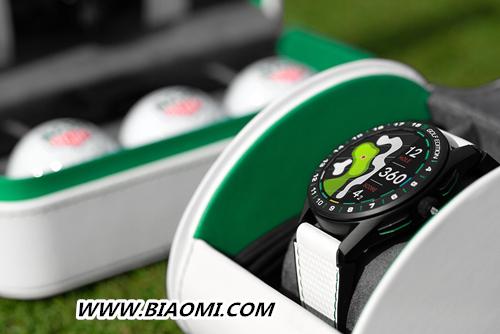 TAG Heuer泰格豪雅推出第三代奢华智能腕表特别版 助力高尔夫爱好者在球场上更进一步 智能手表 第3张