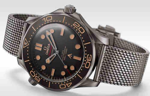 电影《007:无暇赴死》年底上映 先来看看这枚欧米茄全新007腕表