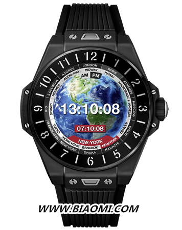 宇舶推出智能腕表 Big Bang外形 智能手表 第3张