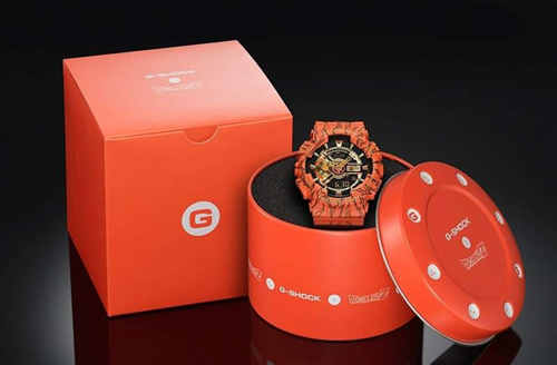 卡西欧G-Shock与Dragon Ball Z龙珠推出新款联名手表