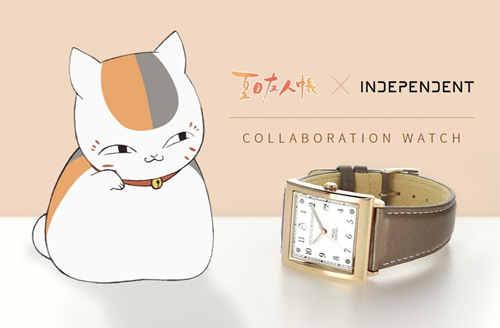 英迪派与《夏目友人帐》联动 推出猫咪老师限量腕表