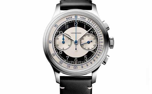 浪琴表推出两款全新经典复刻系列Tuxedo特别版腕表