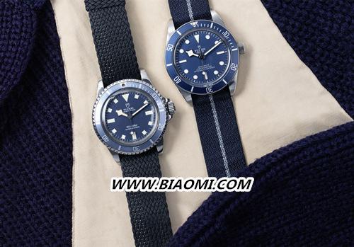 """帝舵碧湾1958型""""海军蓝"""" 今年手表流行蓝色? 名表赏析 第1张"""