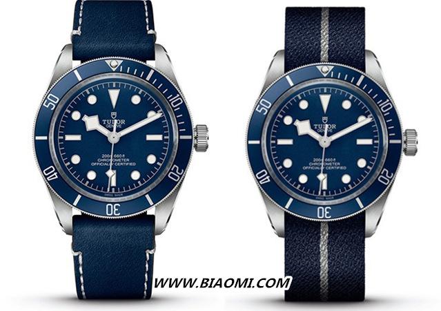 """帝舵碧湾1958型""""海军蓝"""" 今年手表流行蓝色? 名表赏析 第3张"""