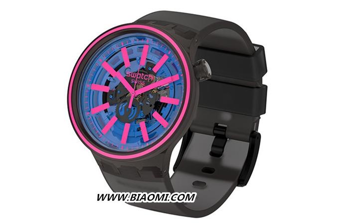 Swatch 推出全新 BIG BOLD SPECTRUM 腕表系列 色彩艳丽 热点动态 第1张