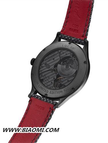 萧邦L.U.C XP Il Sarto Kiton腕表 首次与西装品牌合作的款式 名表赏析 第3张