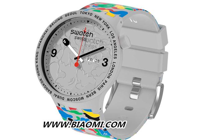斯沃琪 X BAPE 再度携手发布联名腕表 斯沃琪 BAPE Swatch 热点动态  第2张