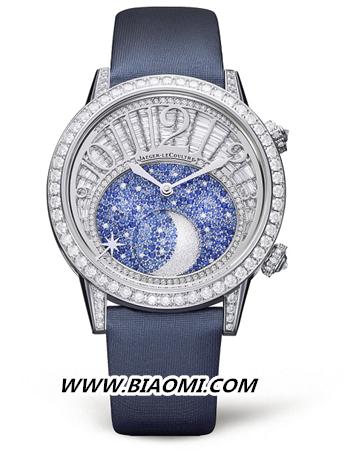 积家Rendez Vous Moon High Jewellery 约会系列高级珠宝月相腕表      积家携手倪妮演绎星空下的永恒之爱 约会系列 积家 倪妮 名表赏析  第3张