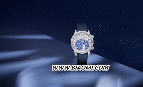 积家Rendez Vous Moon High Jewellery 约会系列高级珠宝月相腕表      积家携手倪妮演绎星空下的永恒之爱 约会系列 积家 倪妮 名表赏析  第4张