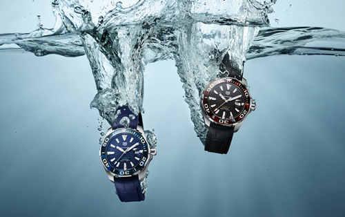 TAG Heuer泰格豪雅推出全新Aquaracer(竞潜系列)腕表  演绎夏日潮流风尚