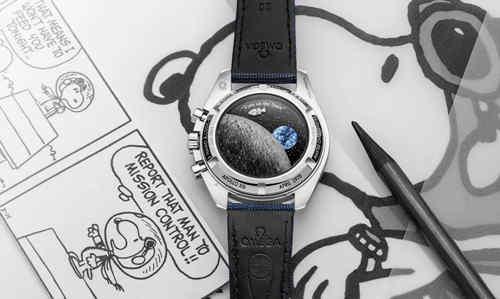 《花生漫画》70周年 欧米茄推出第三代超霸史努比腕表