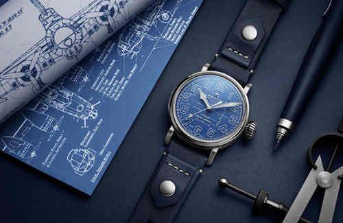 真力时PILOT飞行员系列 TYPE 20 蓝图限量款腕表