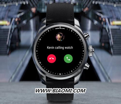 万宝龙推出独立通话智能腕表SUMMIT 2+ 与联通联动? 万宝龙 SUMMIT 2+ 智能手表  第2张