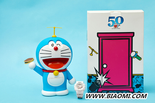 BABY G 与哆啦A梦合作 推出联名款 BABY G 卡西欧 哆啦A梦 热点动态  第2张