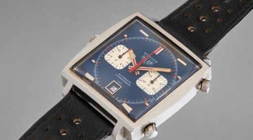 《勒芒》史蒂夫·麦昆佩戴的摩纳哥腕表将被拍卖