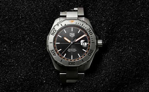 TAG Heuer泰格豪雅与Bamford Watch Department再次携手推出竞潜系列(Aquaracer)Bamford限量版腕表