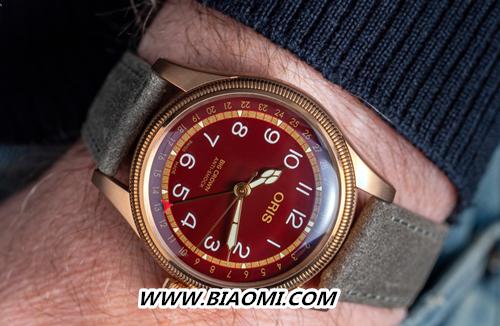 豪利时大表冠指针式日历青铜腕表 Fratello 豪利时 名表赏析  第3张