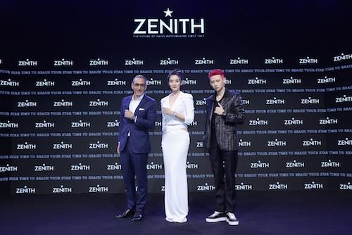 以梦为翼 砥砺摘星——ZENITH真力时携手宋佳、小鬼王琳凯宣布真力时线上精品店正式上线
