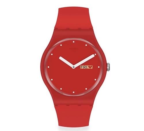 春节来了情人节还远么?看看Swatch的情人节特别款腕表 情人节 斯沃琪 Swatch 收藏保养  第2张
