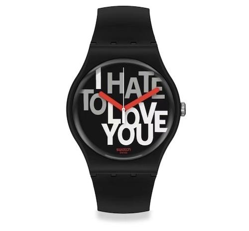 春节来了情人节还远么?看看Swatch的情人节特别款腕表 情人节 斯沃琪 Swatch 收藏保养  第3张