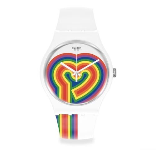 春节来了情人节还远么?看看Swatch的情人节特别款腕表 情人节 斯沃琪 Swatch 收藏保养  第5张